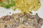 Rognons de veau déglacés au porto – 14.50€