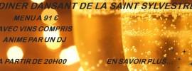 DINER DANSANT DE LA SAINT SYLVESTRE