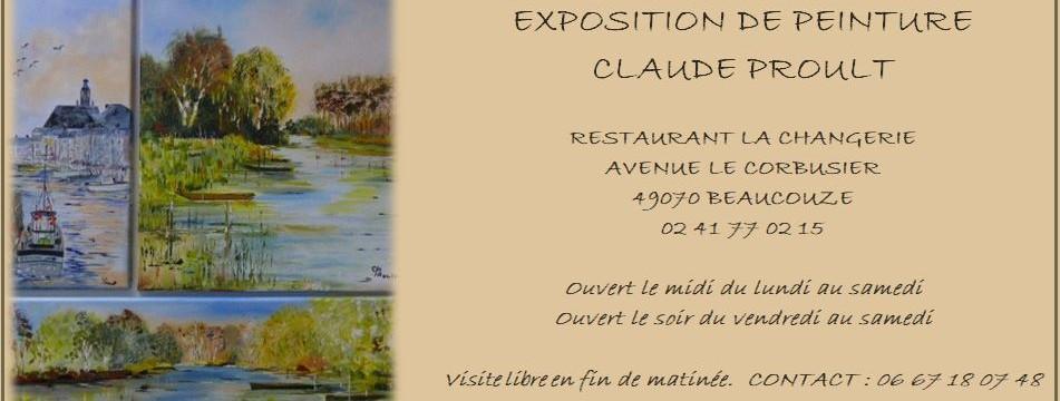 exposition de peinture – Claude Proult